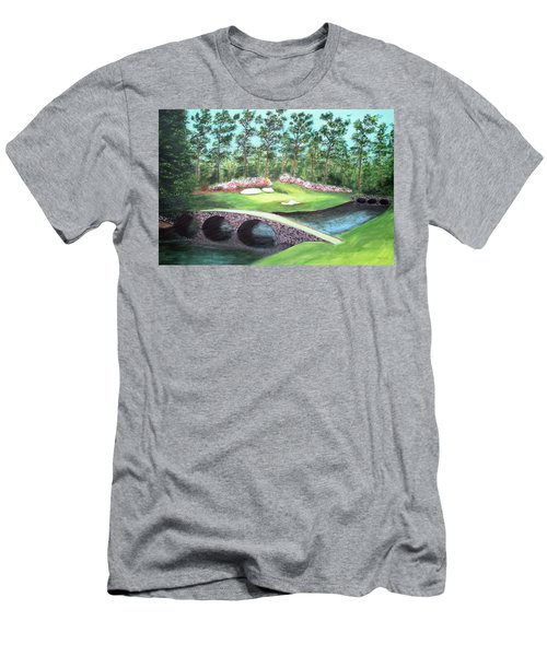 12th Hole At Augusta National Men's T-Shirt (Athletic Fit)