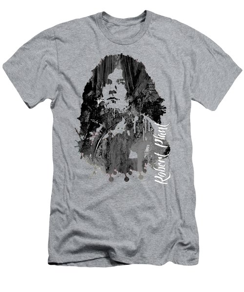 Robert Plant Collection Men's T-Shirt (Slim Fit) by Marvin Blaine