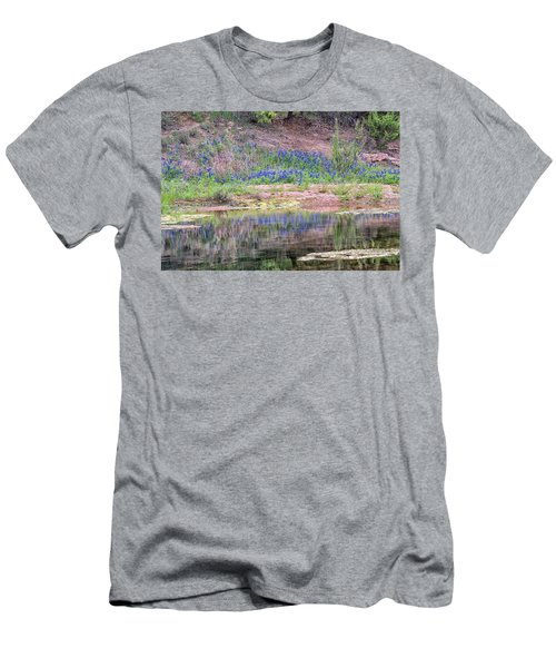 Texas Bluebonnets 8 Men's T-Shirt (Athletic Fit)