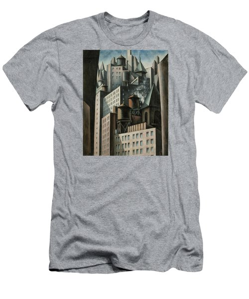 14th Street New York City Men's T-Shirt (Athletic Fit)