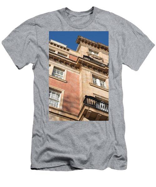 Red Brick Building Men's T-Shirt (Athletic Fit)