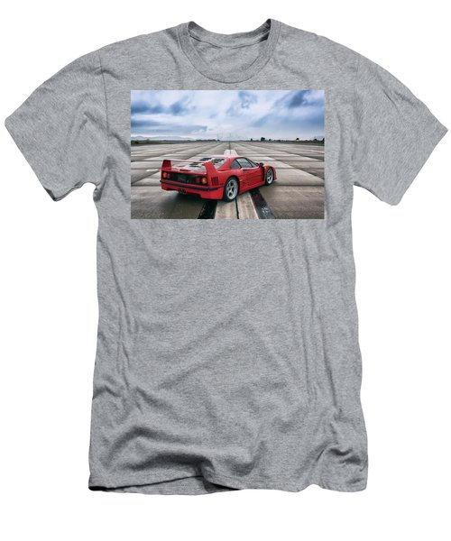 #ferrari #f40 #print Men's T-Shirt (Athletic Fit)