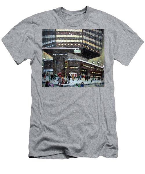 175 Federal Street Men's T-Shirt (Slim Fit) by Rita Brown
