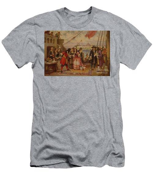 18th Century Sailing Men's T-Shirt (Athletic Fit)
