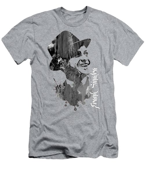 Frank Sinatra Collection Men's T-Shirt (Slim Fit) by Marvin Blaine