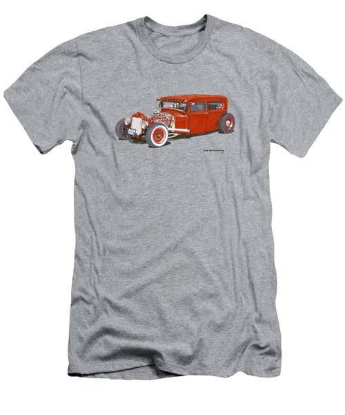 1928 Ford Tudor Jalopy Ratrod Men's T-Shirt (Athletic Fit)