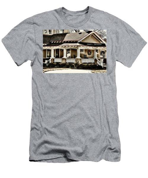 1930's Christmas Men's T-Shirt (Slim Fit) by Joan Bertucci