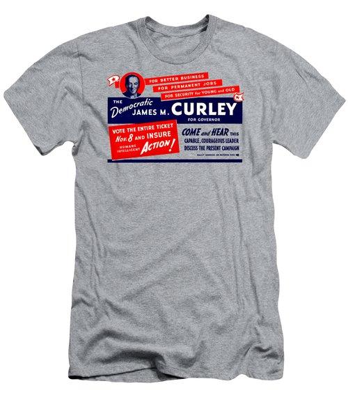 1934 James Michael Curley Men's T-Shirt (Athletic Fit)