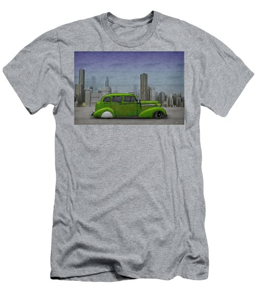 1936 Buick  Men's T-Shirt (Slim Fit) by Ken Morris