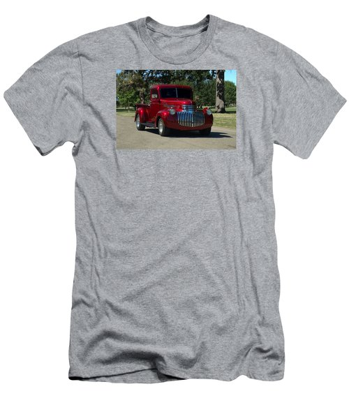 1946 Chevrolet Pickup Truck Men's T-Shirt (Slim Fit) by Tim McCullough