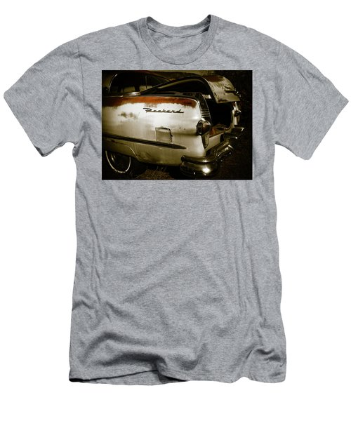 Men's T-Shirt (Slim Fit) featuring the photograph 1950s Packard Trunk by Marilyn Hunt