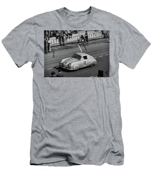 1951 Porsche Winning At Le Mans  Men's T-Shirt (Athletic Fit)