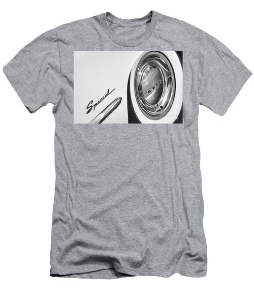 Men's T-Shirt (Slim Fit) featuring the photograph 1953 Special Monotone by Dennis Hedberg
