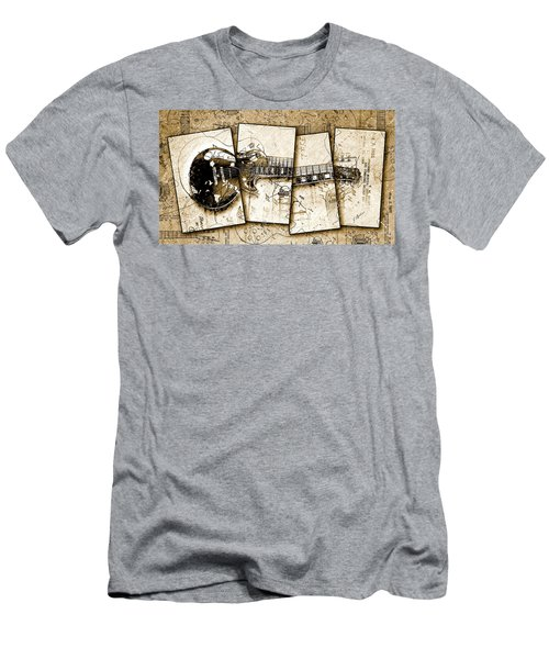 1955 Les Paul Custom Quadtych Men's T-Shirt (Athletic Fit)