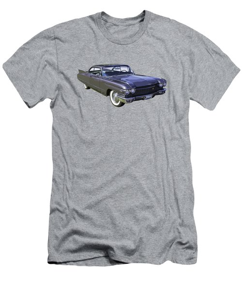 1960 Cadillac - Classic Luxury Car Men's T-Shirt (Slim Fit) by Keith Webber Jr