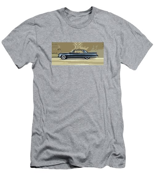 1961 Cadillac Fleetwood Sixty-special Men's T-Shirt (Athletic Fit)