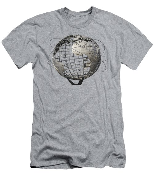 1964 World's Fair Unisphere Men's T-Shirt (Slim Fit) by Bob Slitzan