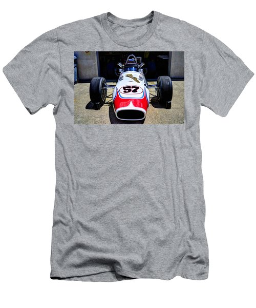 1966 Gearhardt Rear Engine V8 Men's T-Shirt (Slim Fit) by Josh Williams