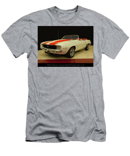 1969 Chevy Camaro Rs/ss Indy Pace Car Men's T-Shirt (Athletic Fit)