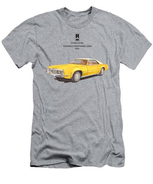 1970 Oldsmobile Toronado Men's T-Shirt (Athletic Fit)