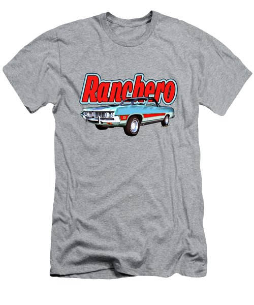 1971 Ford Ranchero At Three Palms - 5th Generation Of Ranchero Men's T-Shirt (Athletic Fit)