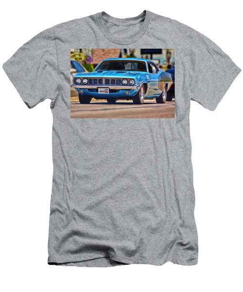 1971 Plymouth 'cuda 383 Men's T-Shirt (Athletic Fit)