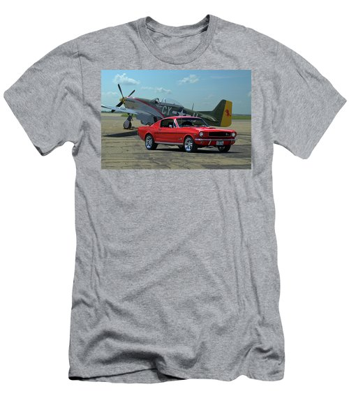 1965 Mustang Fastback Men's T-Shirt (Slim Fit) by Tim McCullough