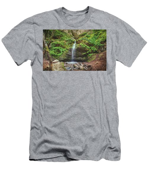 Men's T-Shirt (Slim Fit) featuring the photograph A Little Bit Of Love by Laurie Search