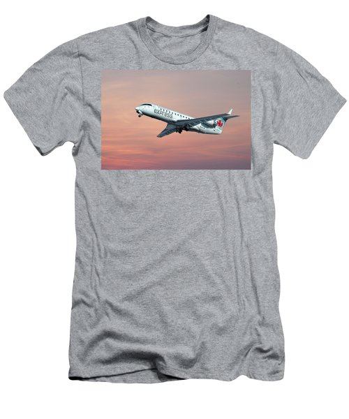 Air Canada Express Bombardier Crj-200 Men's T-Shirt (Athletic Fit)
