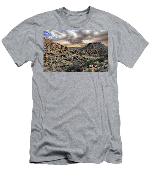 Men's T-Shirt (Athletic Fit) featuring the photograph Big Bend National Park by Anthony Dezenzio