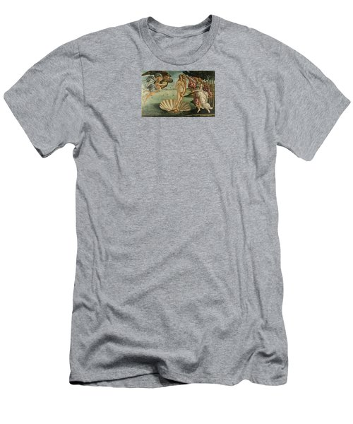 The Birth Of Venus, Detail Men's T-Shirt (Athletic Fit)
