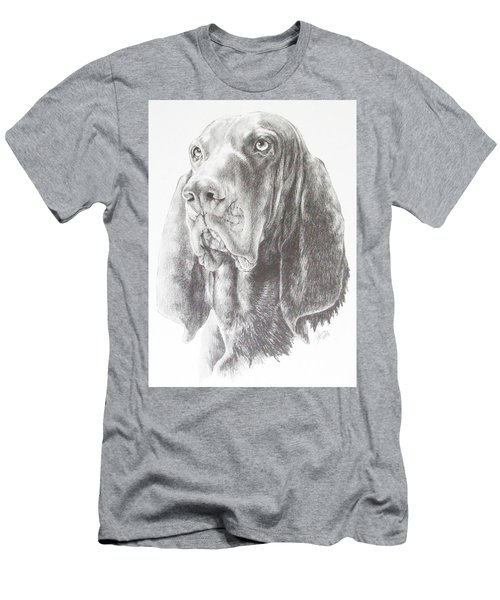 Black And Tan Coonhound Men's T-Shirt (Athletic Fit)
