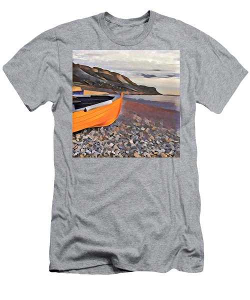 Chesil Beach Men's T-Shirt (Athletic Fit)