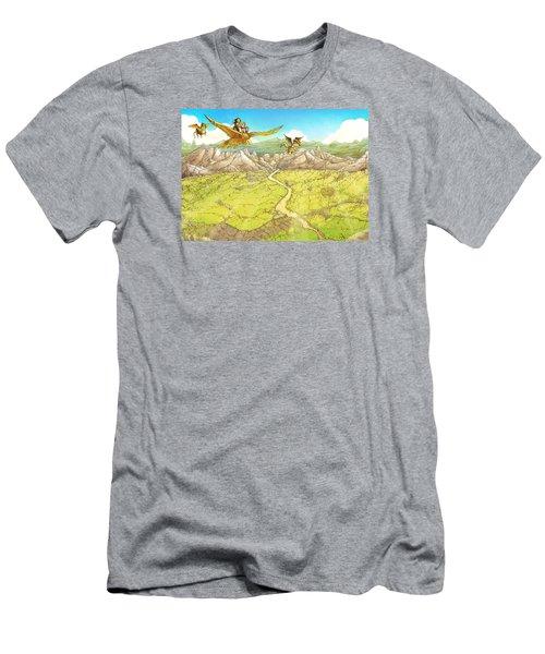 Chiricahua Mountains Men's T-Shirt (Slim Fit) by Reynold Jay