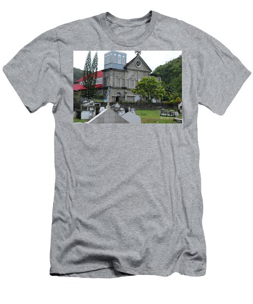 Men's T-Shirt (Athletic Fit) featuring the photograph Church by Gary Wonning