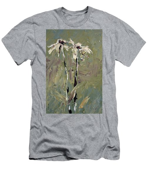 Cone Flowers Men's T-Shirt (Slim Fit) by Jim Vance