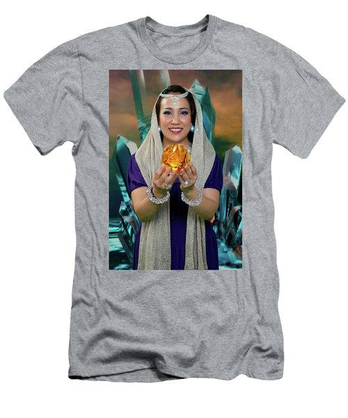 Crystal Goddess Men's T-Shirt (Athletic Fit)