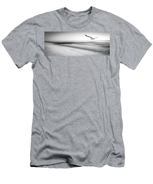 Men's T-Shirt (Slim Fit) featuring the photograph Desire Light Bw by Hannes Cmarits