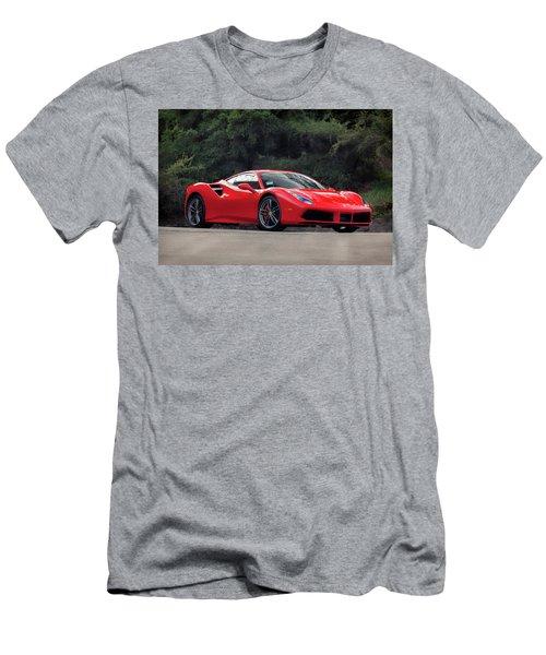 #ferrari #488gtb Men's T-Shirt (Athletic Fit)