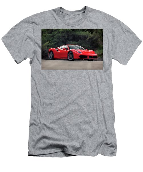#ferrari #488gtb Men's T-Shirt (Athletic Fit)
