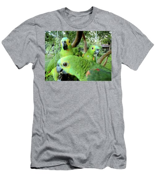 Men's T-Shirt (Slim Fit) featuring the photograph Happy Hour by Beto Machado