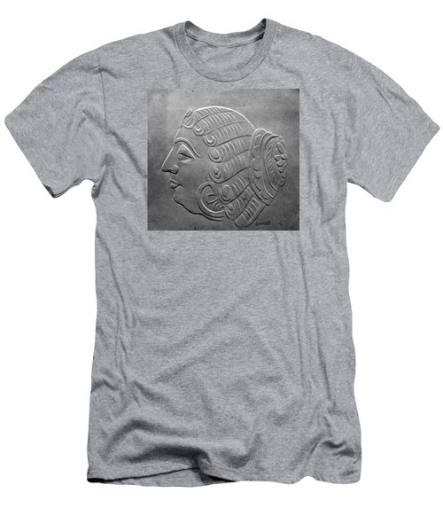 Men's T-Shirt (Slim Fit) featuring the relief Head by Suhas Tavkar
