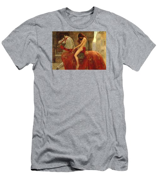 Lady Godiva Men's T-Shirt (Athletic Fit)