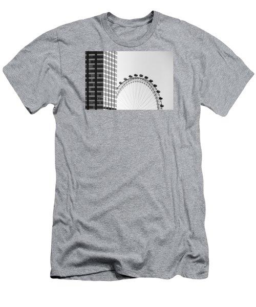 London Eye Men's T-Shirt (Slim Fit) by Joana Kruse