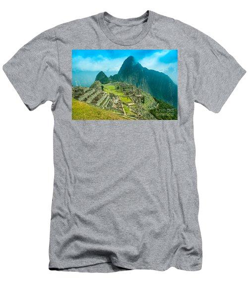 Machu Picchu  Men's T-Shirt (Slim Fit) by Mariusz Czajkowski