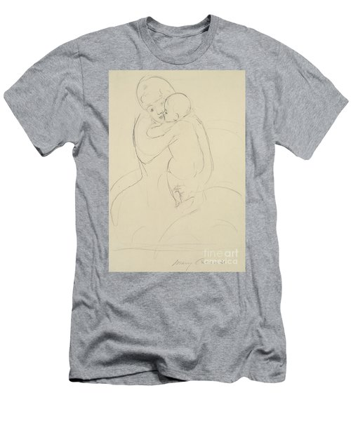 Maternal Caress Men's T-Shirt (Athletic Fit)