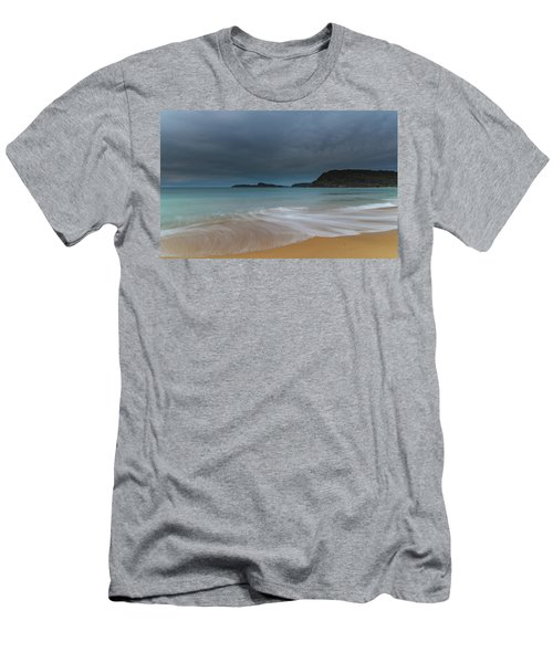 Overcast Cloudy Sunrise Seascape Men's T-Shirt (Athletic Fit)