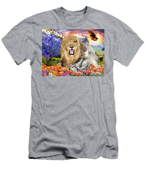 Men's T-Shirt (Slim Fit) featuring the digital art Perfect Peace by Dolores Develde