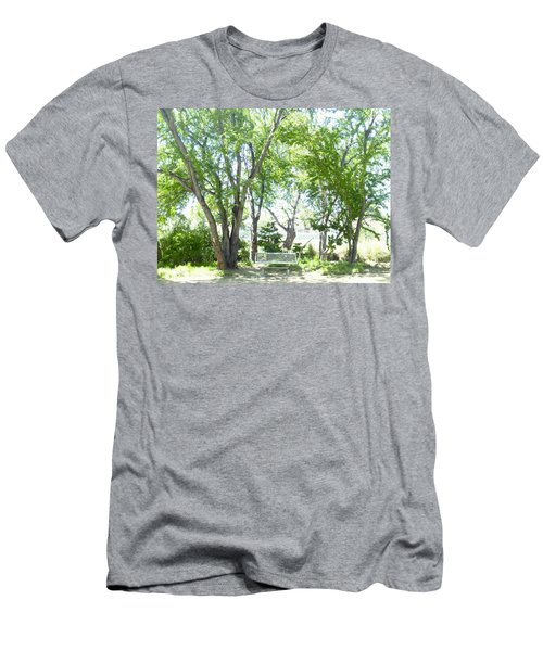 Ponce, Urban Ecological Park Men's T-Shirt (Athletic Fit)