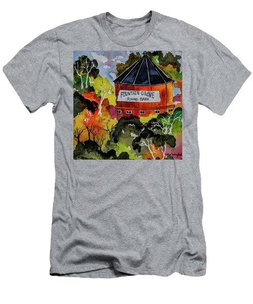 Round Barn ,santa Rosa Men's T-Shirt (Athletic Fit)